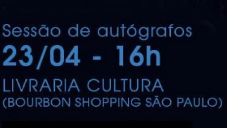 SESSÃO DE AUTÓGRAFOS EM SÃO PAULO