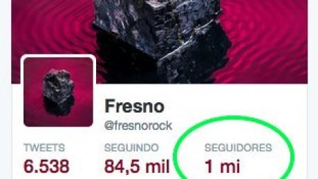 1 MILHÃO NO TWITTER